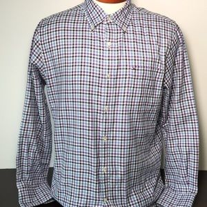 TOMMY HILFIGER SHIRT 15.5-16 MENS MEDIUM